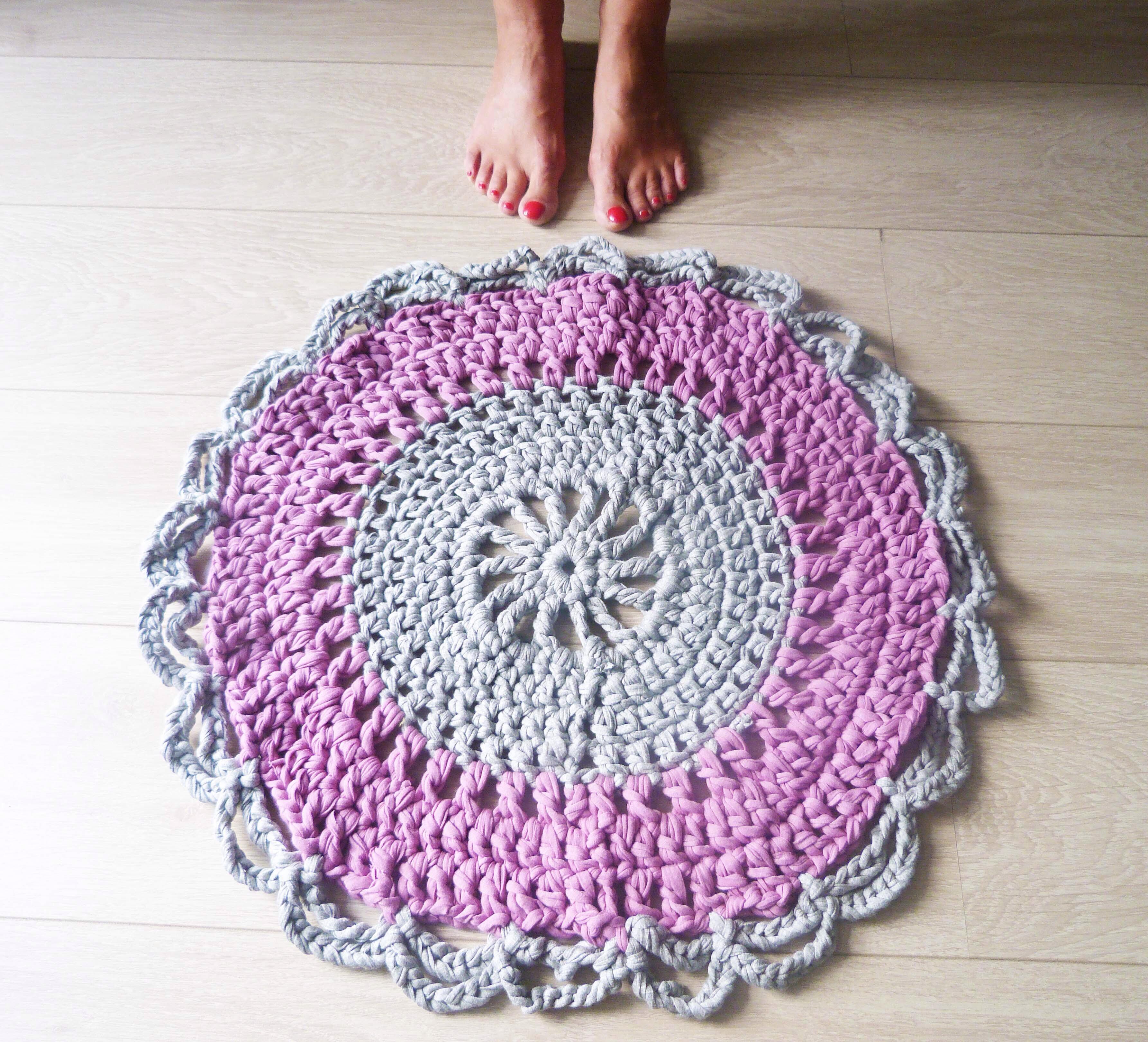 ¿Queréis hacer una alfombra de trapillo?