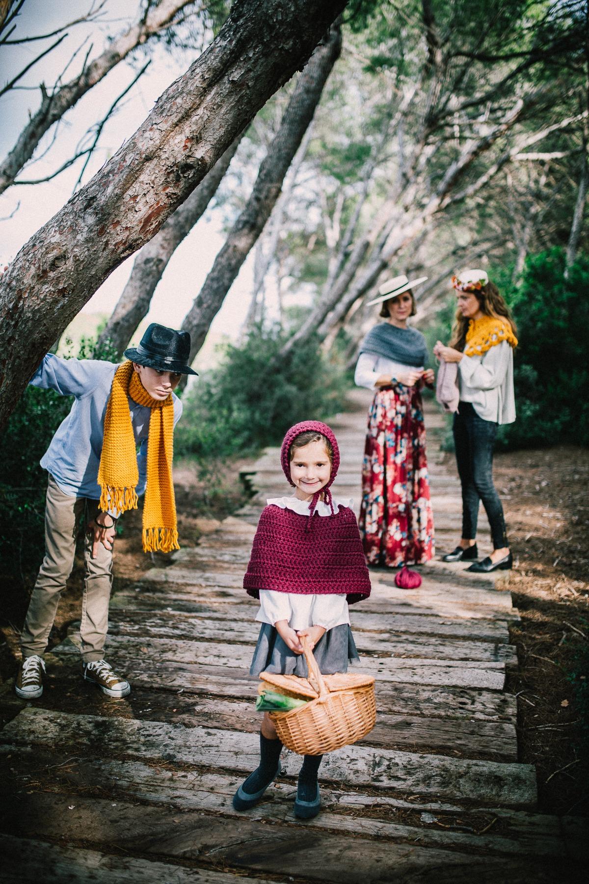 Tejiendo un cuento … Caperucita Roja y nuestra Knitting Party