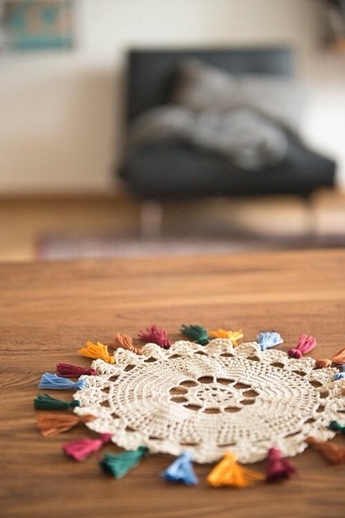 Crochet para casa (… y no penséis en el tapete de la abuela)